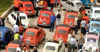 Fiat 500 ostia