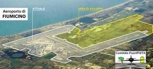 Raddoppio dell'aeroporto di Fimicino
