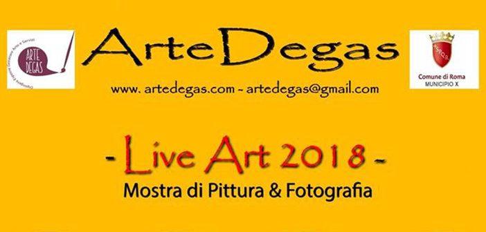 LiveArt2018: rassegna d'arte e fotografia in piazza Anco Marzio
