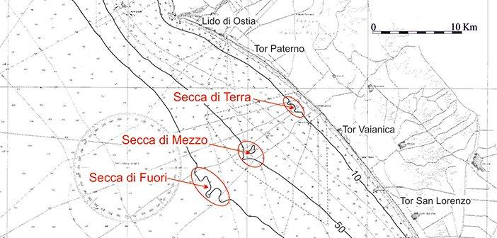 Geologia delle Secche di Tor Paterno