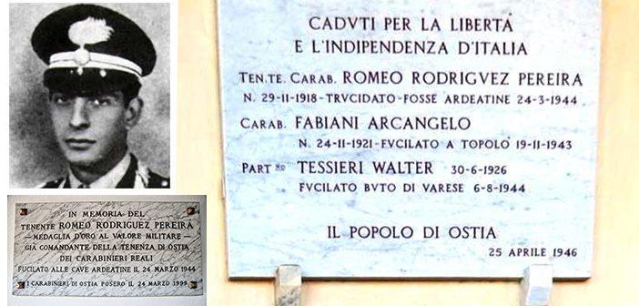 Memoria storica: Il sacrificio del carabiniere Romeo Rodriguez Pereira